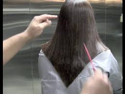 pictures of v shaped hairstyles how to cut a v shape haircut step by step haircut of a v shape