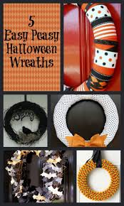 Easy Halloween Wreath by 1724 Best Halloween Images On Pinterest Halloween Recipe