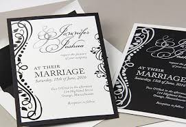 and black wedding invitations wedding invitation trend colorful layers matching liners