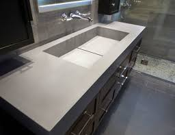 Double Vanity Tops For Bathrooms Clever Bathroom Sink With Two Faucets Trough Vanity Modern Instead