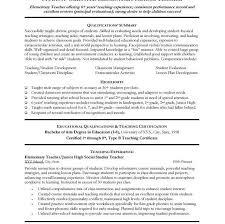 Sample Resume Format For Teachers by Resume Examples For Teachers Resume Cv Cover Letter