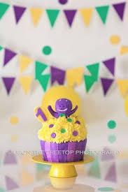 Diy Barney Decorations Barney Birthday Theme Diy Personalised Party By Fireflyinspired