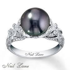 best pearl rings images Black pearl wedding ring best 25 black pearl rings ideas on jpg
