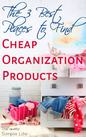 the 3 best places to find cheap organization products the