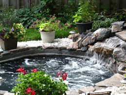Small Pool Backyard Ideas by Our Inground Spa Our Backyard Pinterest Spa Tubs And