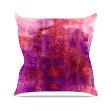 Inspiring Plum Decorative Pillow Covers And Grey Throw For Purple