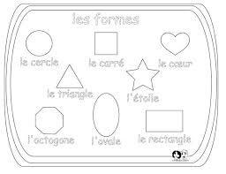 25 best french shapes and solids images on pinterest french