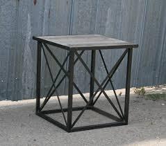 modern wood end table furniture agreeable vintage reclaimed wood end tables nu