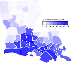 Map Of South Louisiana by Old Time Religion A Catholic Bloc Statsheet The Quora