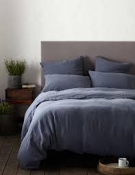 100 Linen Duvet Cover Blue French Linen Duvet Cover Secret Linen Store
