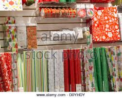 container store christmas wrapping paper christmas gift wrapping display the container store nyc