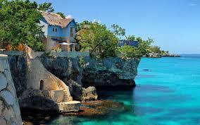 coastal house coastal house in negril jamaica wallpaper beach wallpapers 26264