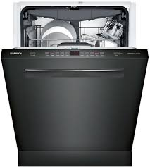 Bosch Dishwasher Start Button Bosch Shp865wd6n Fully Integrated Dishwasher With Flexible 3rd