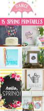 15 Free Spring Printables U2013diy Decor