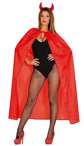 Vampire Cape Red Halloween Devil Dracula Vampire Cape Cloak Fancy Dress Costume