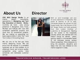 interior designer profile