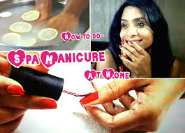 how to do a spa manicure at home step by step perfect manicure at