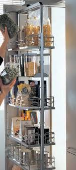 pull out kitchen storage ideas best 25 pull out pantry ideas on kitchen storage
