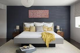 chambre avec mur en décoration chambre avec murs gris foncés