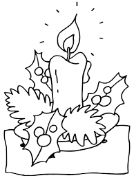 free coloring pages for christmas printable candles christmas