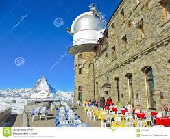 matterhorn and the gornergrat kulm hotel in gornergrat zermatt