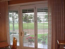 awesome modern plantation shutters with white door with brown wall