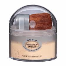 physicians formula mineral wear talc free mineral loose powder