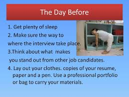 What Makes A Resume Stand Out How To Prepare For A Job Interview This Teaching Demonstration Is