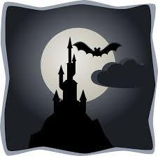 spooky png clipart spooky castle in full moon