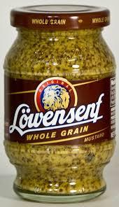 lowensenf mustard german mustards lowensenf whole grain mustard national mustard
