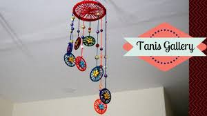 how to make wind chimes with bangles and woolen making wind