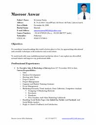 Resume Format For Mba Freshers Pdf Cover Letter Sample Resume For Mba Application Sample Resume For