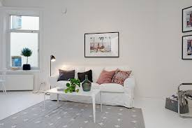 Small Single Bedroom Design Small Single Room Apartment In Black And White Gothenburg