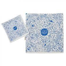 matzah cover and afikomen bag set barbara shaw illustrated matzah cover and afikoman bag set
