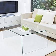 Glass Waterfall Coffee Table Amazon Com Acrylic Coffee Cocktail Waterfall Table Lucite 40 X 20