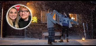 ed sheeran perfect video actress ed sheeran drops music video to perfect and it s so christmassy