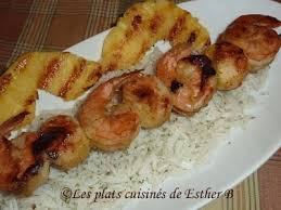 cuisine jamaicaine brochettes de crevettes et de pétoncles à la jamaïcaine recette