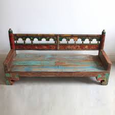 Modern Wooden Garden Furniture Painted Wooden Benches 115 Mesmerizing Furniture With Painting Old