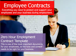 employment contract zero hours template u2013 hr revolution