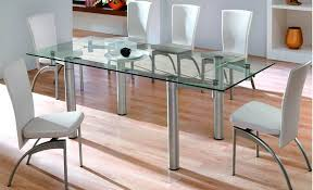 Glass Dining Table Sets Designer Glass Dining Tables U2013 Table Saw Hq