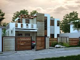 Modern Two Story House Plans Modern House Design Series Mhd 2015015 Pinoy Eplans