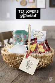 gift basket ideas tea gift basket for the tea lover gift baskets
