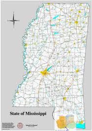 Mississippi State Map Mississippi State Senate District 46