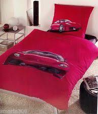 Ferrari Duvet Set Sports Quilt Covers Ebay