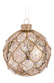 mercury glass ornaments set of 12 mercury glass
