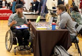 under the table jobs for disabled hiring fair seeks to show employability of people with disabilities