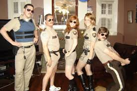Reno 911 Halloween Costumes Coming Circle Costume
