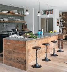 cuisine en palette îlot central en palette 32 idées diy pour customiser sa cuisine
