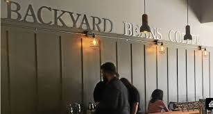 new backyard beans coffee shop round guys live music events