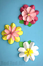 paper flower easy 3d paper flowers for ted s